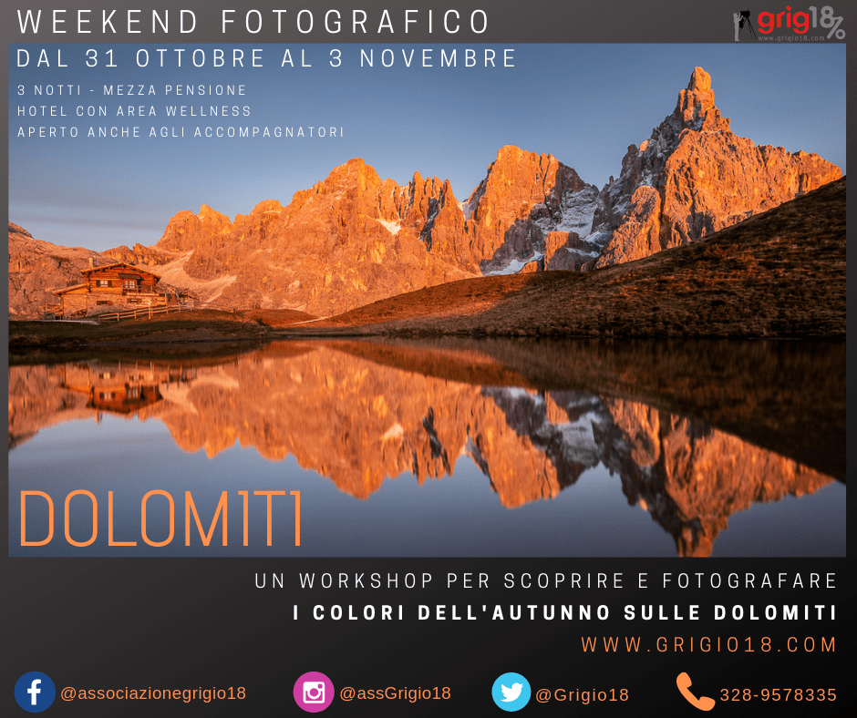 workshop dolomiti , grigio18
